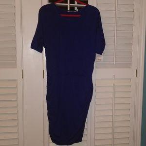 NWT Athleta Solstice Tee Dress in Sapphire